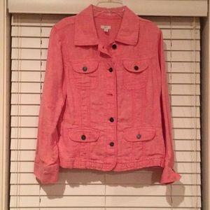 Women's J.Jill jean jacket